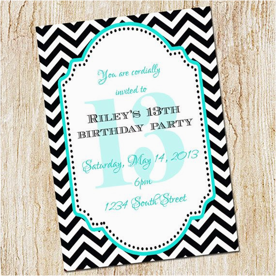Free Printable 13th Birthday Party Invitations Invitation Girl