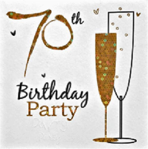 Free Printable 70th Birthday Cards 3 Fantastic 70th Birthday Party Invitations Wording