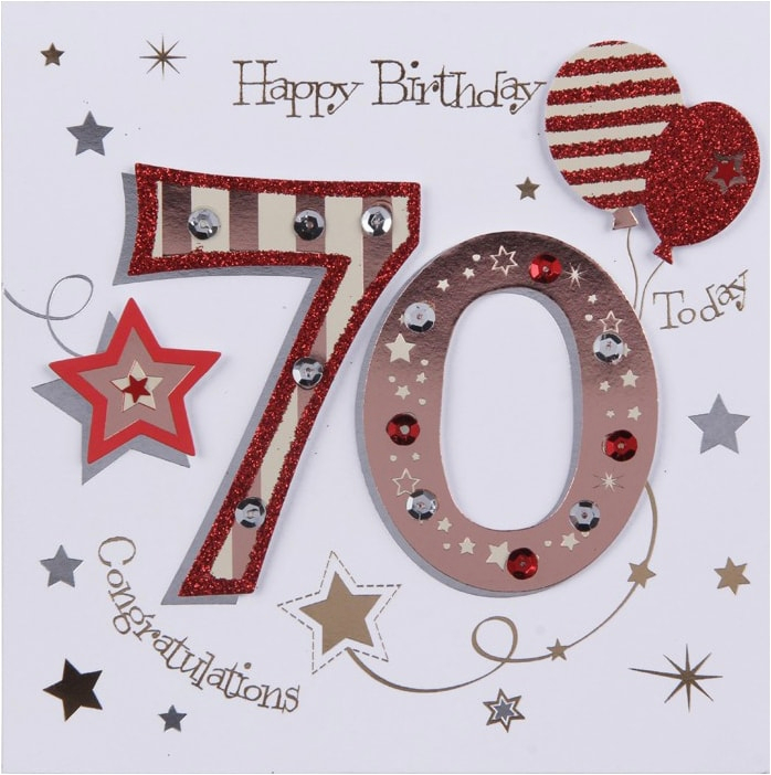 65th 70th 75th birthday cards