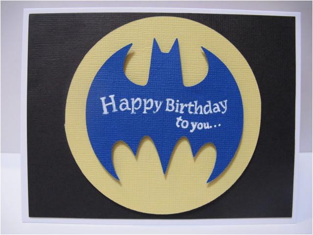 6 best images of batman birthday free printable cards