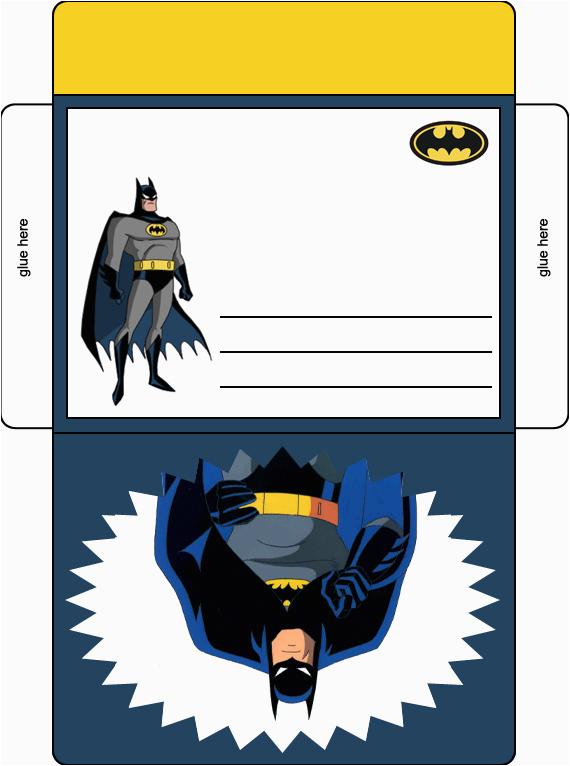 batman birthday party envelope in color batman birthday