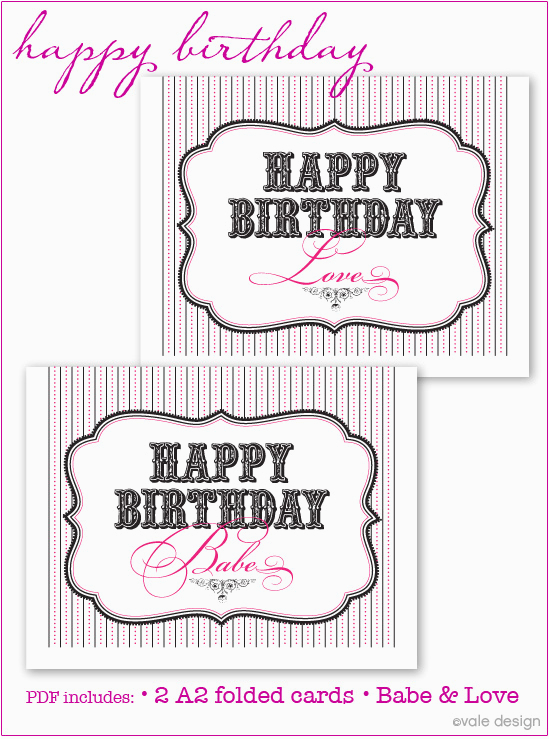 Free Printable Birthday Cards For My Husband 7 Best Images Of Happy