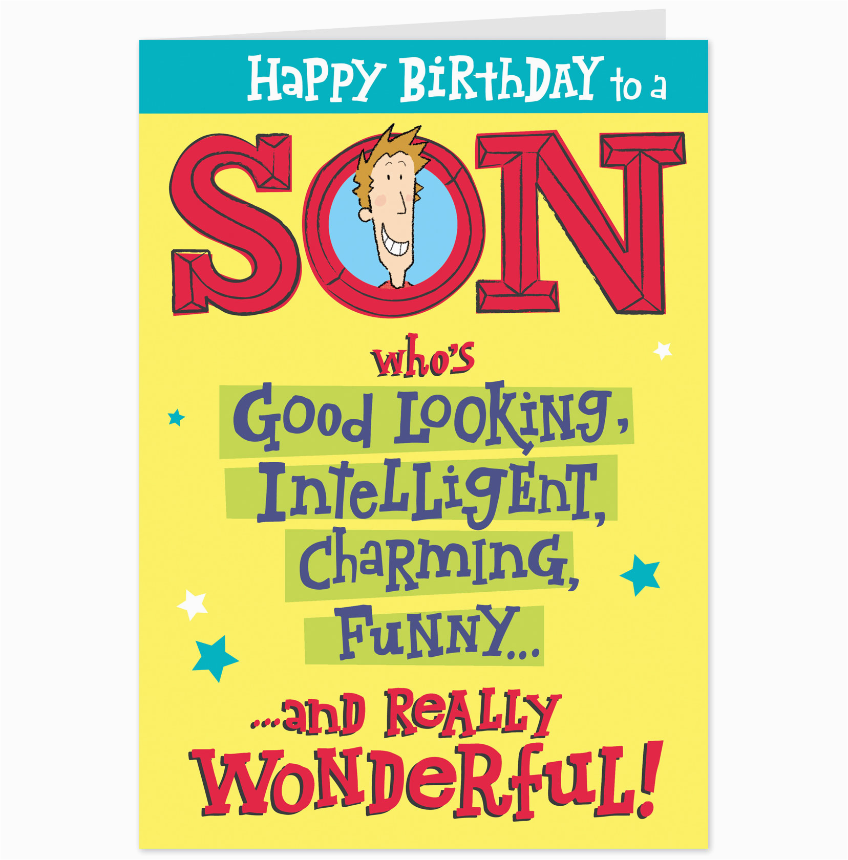Free Printable Birthday Cards for My son Birthday Wishes for son Photo and Happy Birthday for son