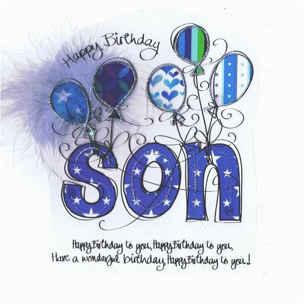 Free Printable Birthday Cards For My Son Happy To Pictures Photos And Images