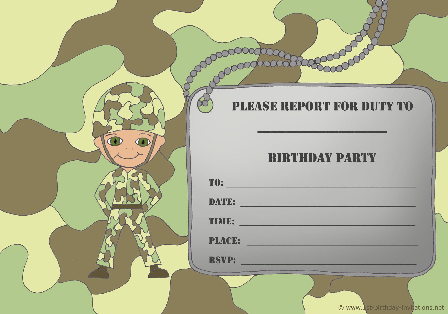 Free Printable Birthday Party Invitations For Boys Invitation Card