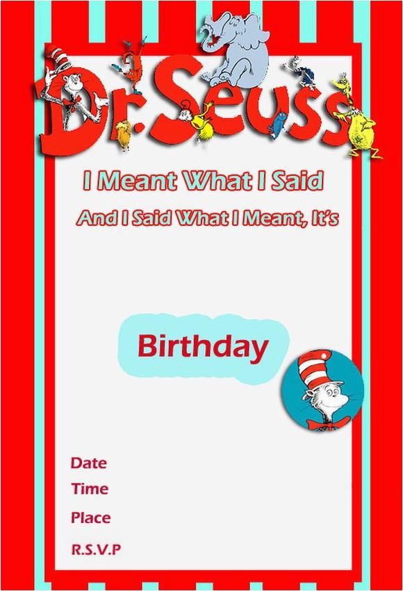 dr seuss birthday invitation free template 2