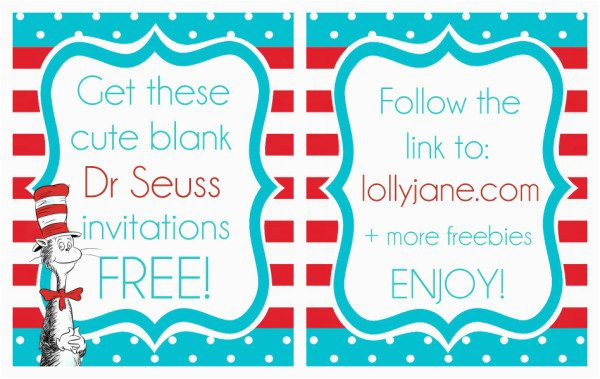 image regarding Printable Dr Seuss Quotes called Free of charge Printable Dr Seuss Birthday Invites BirthdayBuzz