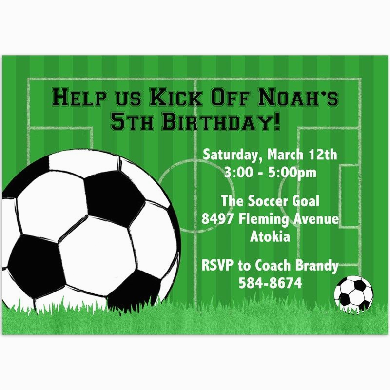 photo regarding Free Printable Football Invitations referred to as Absolutely free Printable Soccer Invites for Birthday Occasion