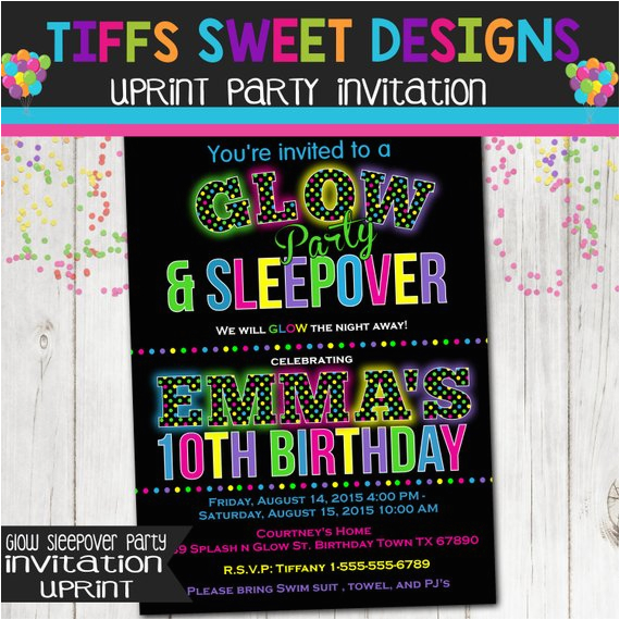 photo regarding Free Printable Glow Party Invitations titled Absolutely free Printable Shine Within the Darkish Birthday Social gathering Invites