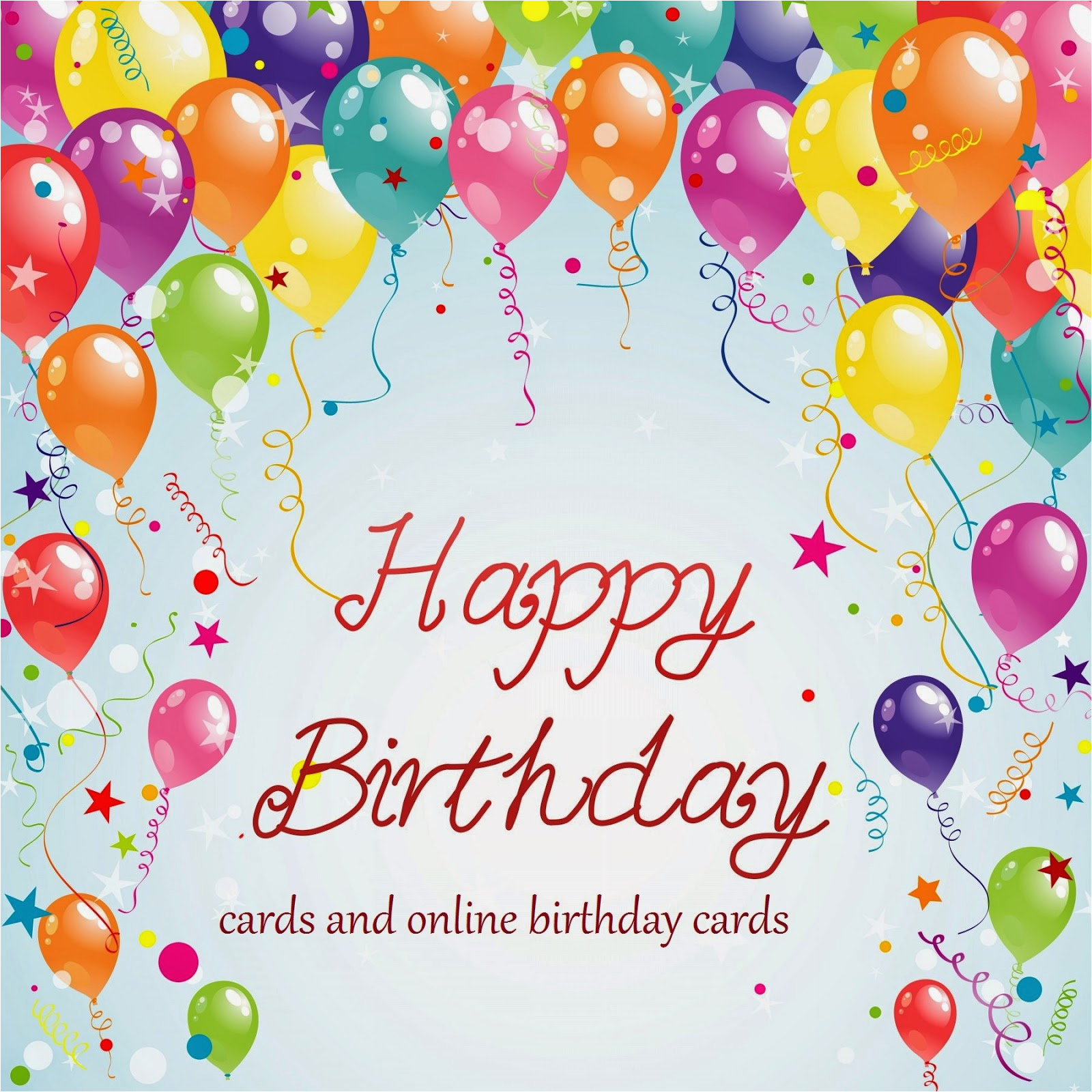 Free Printable Happy Birthday Cards Online And E
