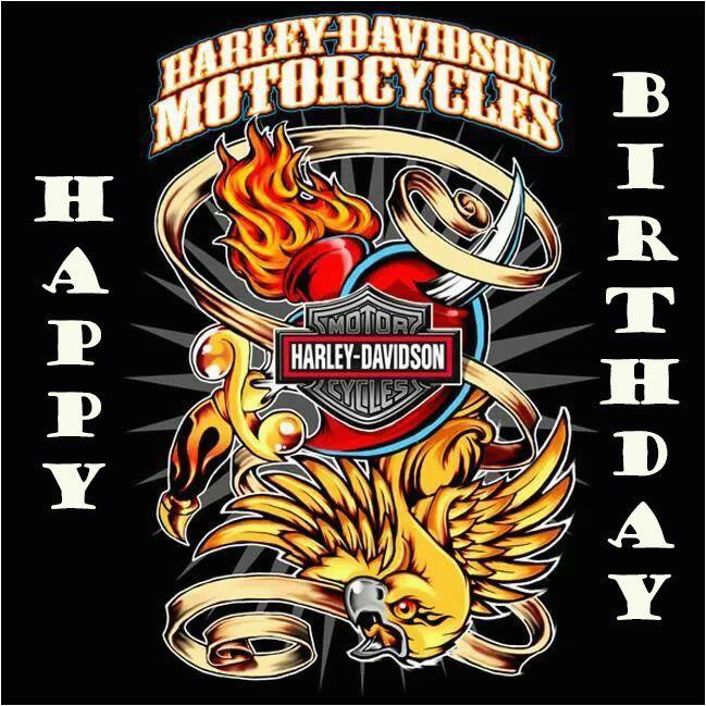 happy birthday harley davidson verjaardagspins