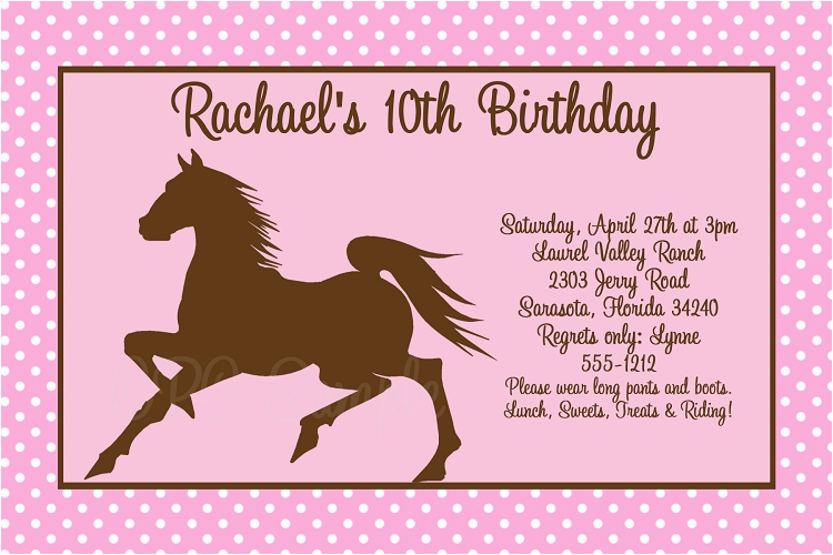 Free Printable Horse Birthday Party Invitations 8 Best Images Of Western Adult