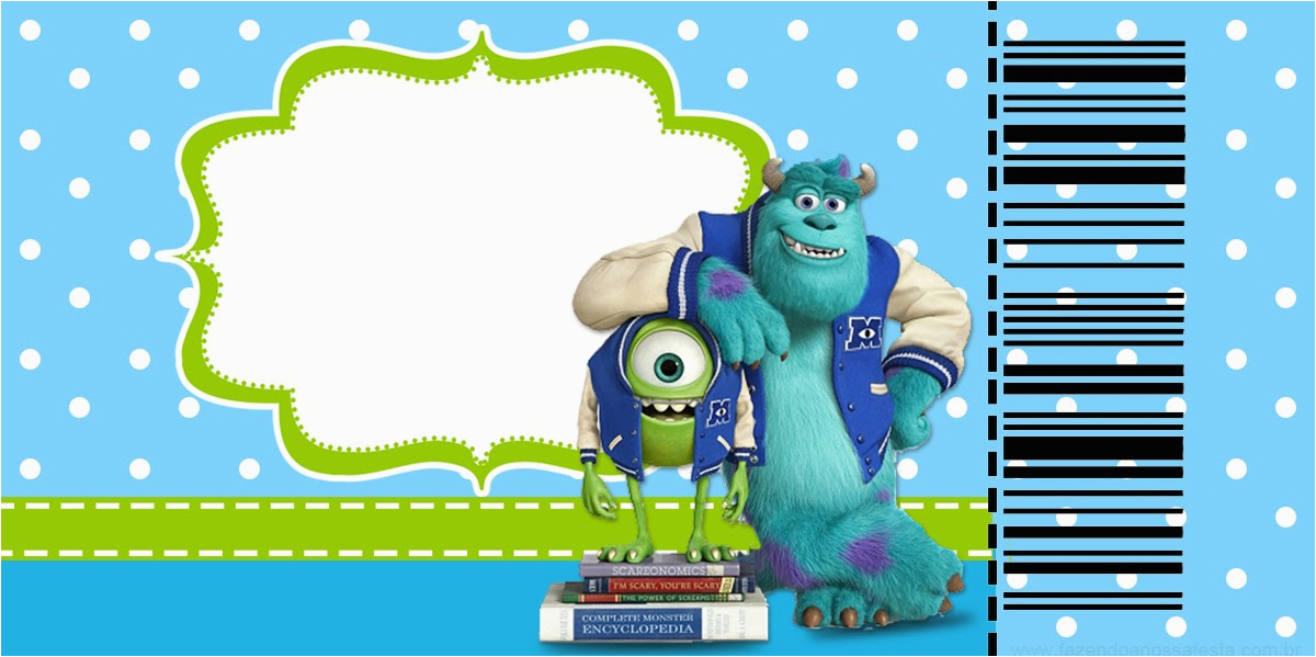 monster university free printable party 24