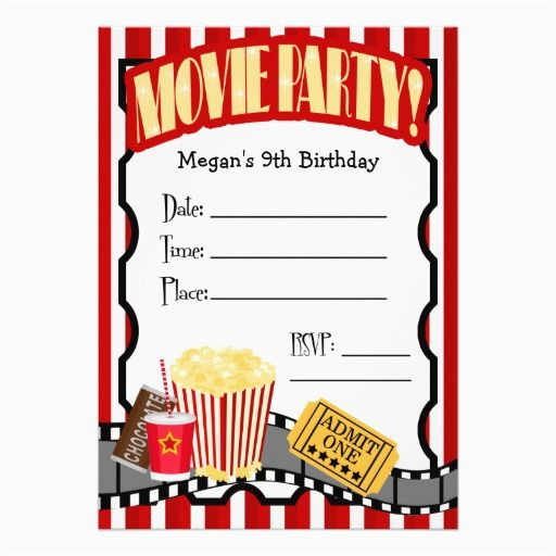 photograph relating to Free Printable Movie Party Invitations called No cost Printable Video clip themed Birthday Invites Video clip Get together