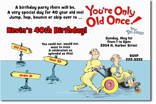 Free Printable Over The Hill Birthday Cards Party Invitations By