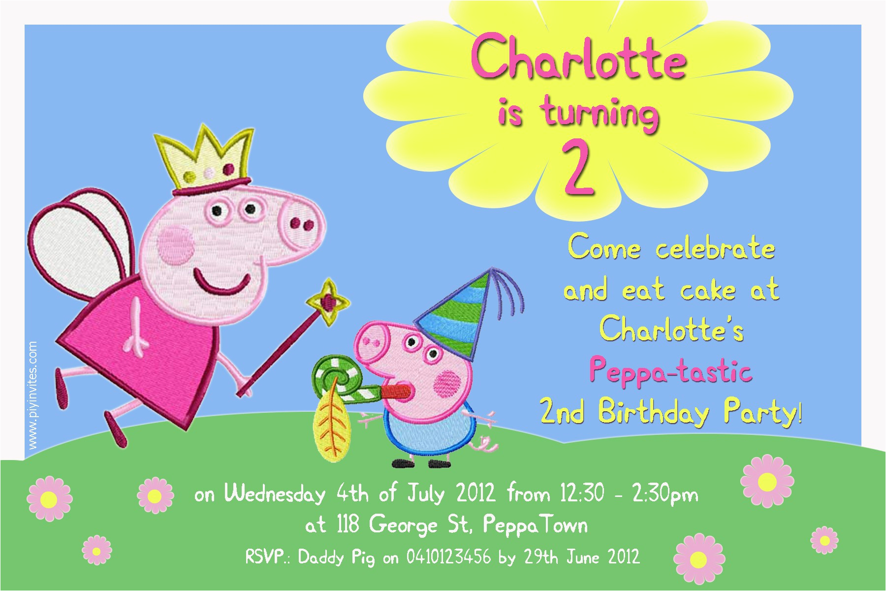 Free Printable Peppa Pig Birthday Invitations Superhero Invitation Templates