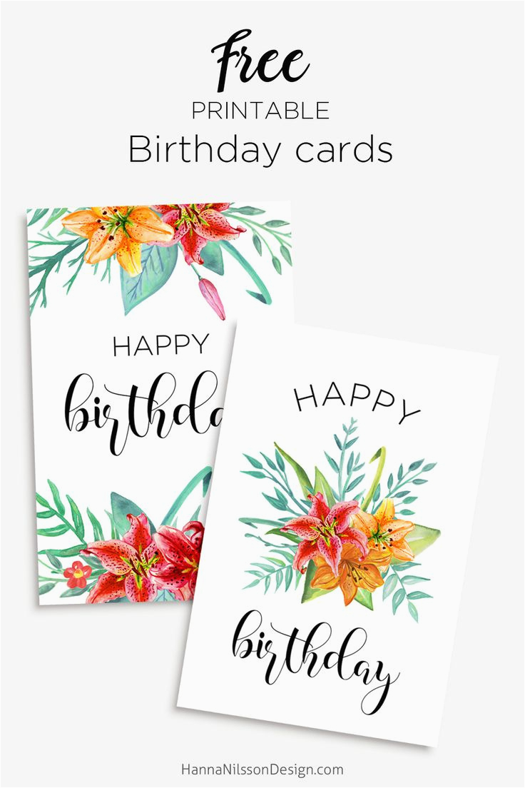 Free Printable Personalised Birthday Cards 25 Best Ideas About On