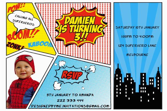 image relating to Free Printable Superhero Birthday Invitation Templates named Absolutely free Printable Superhero Birthday Playing cards 30 Superhero