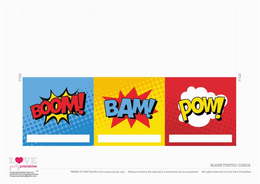 photo relating to Free Superhero Party Printable named Cost-free Printable Superhero Birthday Playing cards Totally free Superhero Celebration