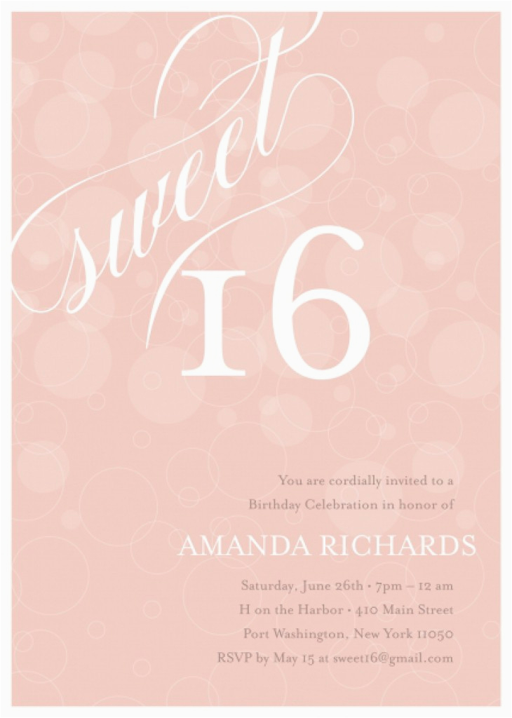 Free Printable Sweet 16 Birthday Party Invitations 8 Best Images Of Invitation Templates