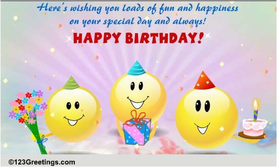 Free Singing Birthday Cards Online Funny Singing Smileys Free Funny
