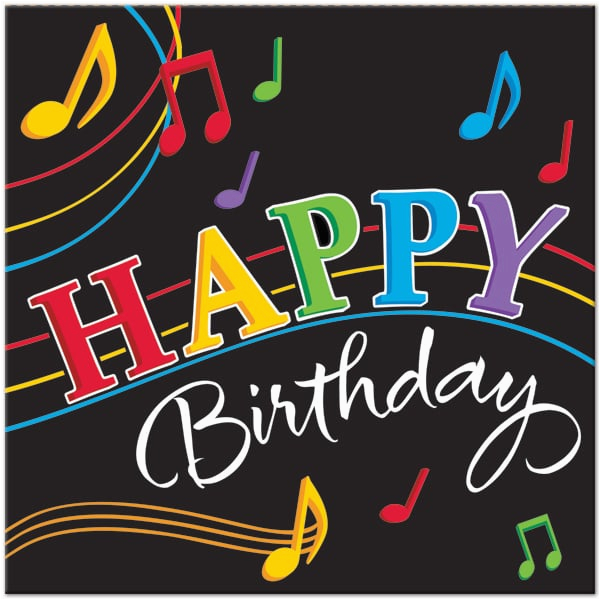 Free Singing Birthday Cards With Names Musical Happy Music Images