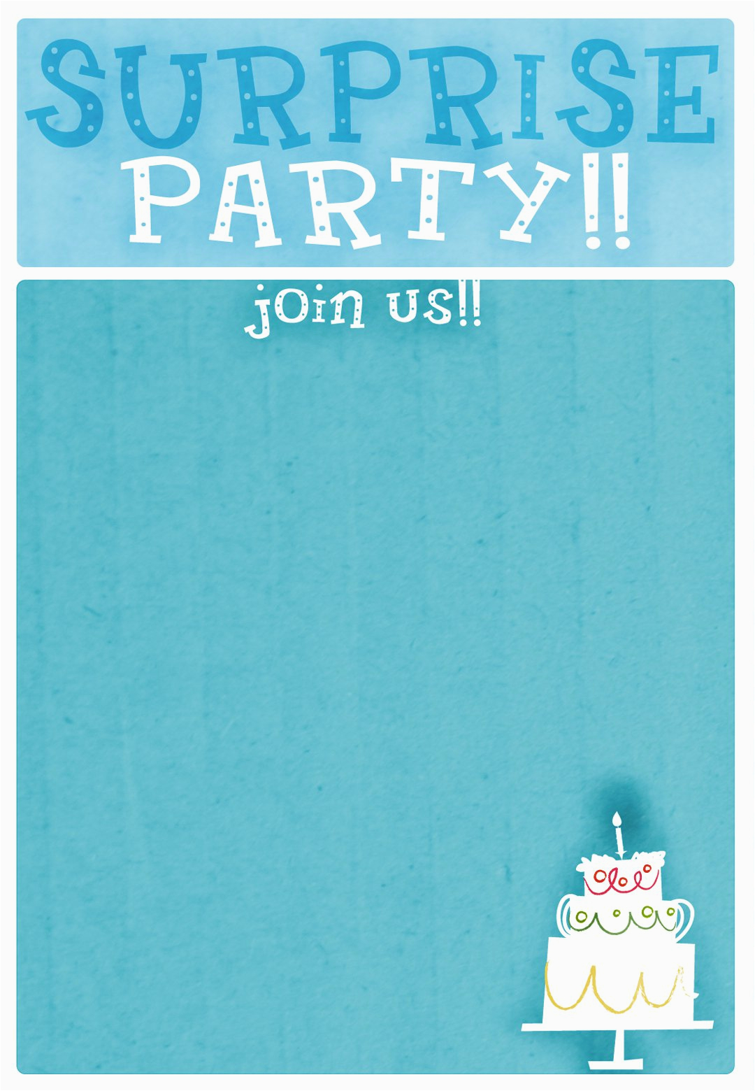 Free Surprise Birthday Party Invitations Free Printable Surprise 18th Birthday Invitations