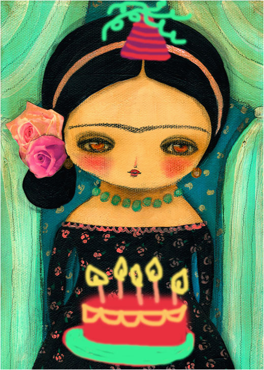 before the day ends happy birthday frida kahlo