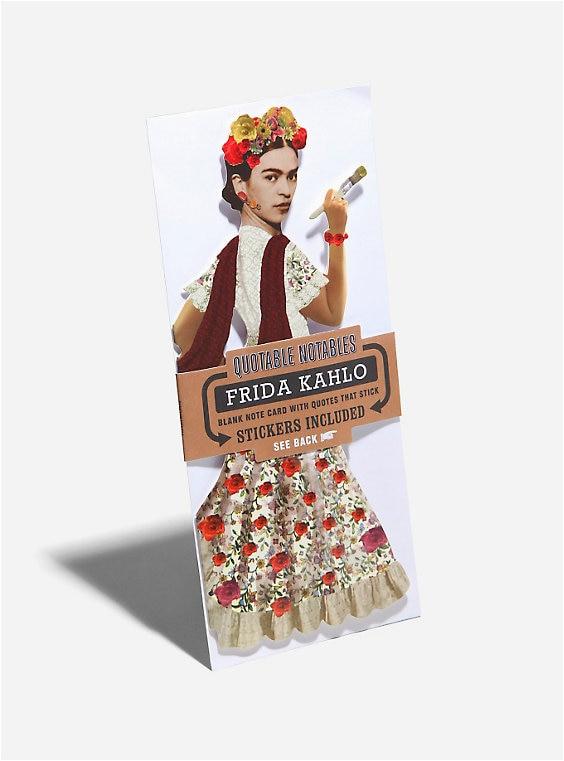frida kahlo customizable greeting card