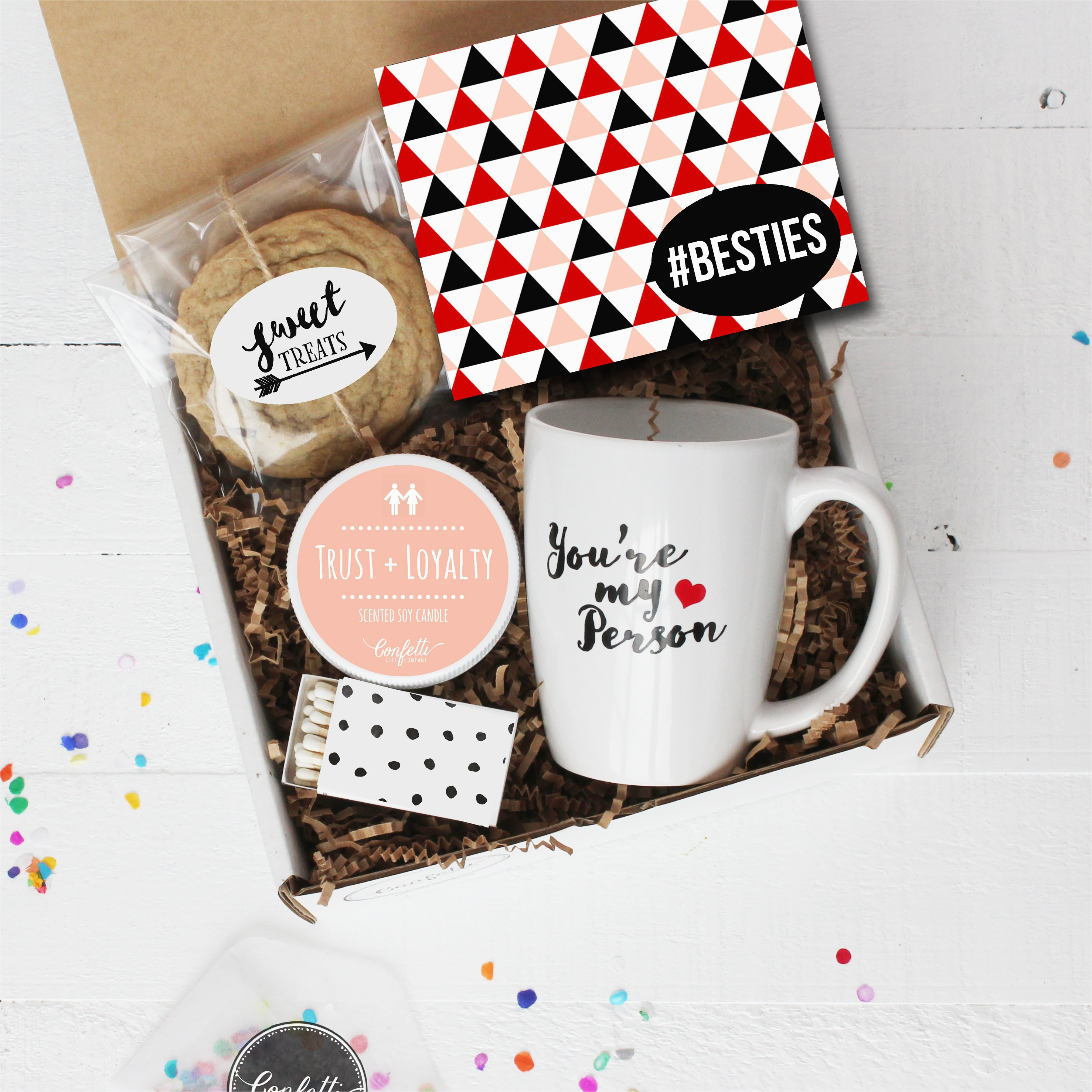 Friends Birthday Gifts for Her Besties Gift Box Thinking Of You Gift Best Friend Gift