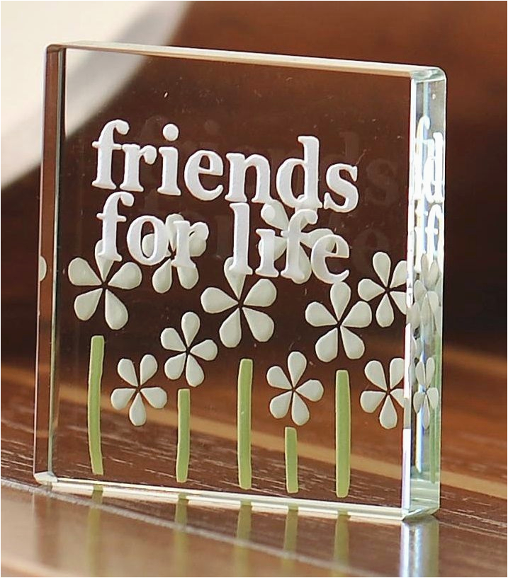 spaceform friends for life glass token christmas gift