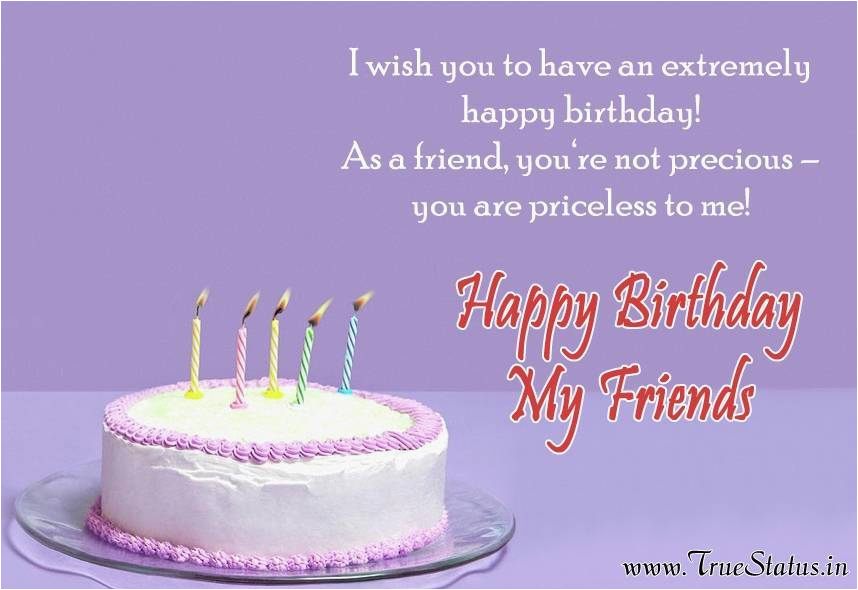 lovely birthday quote for my great friend