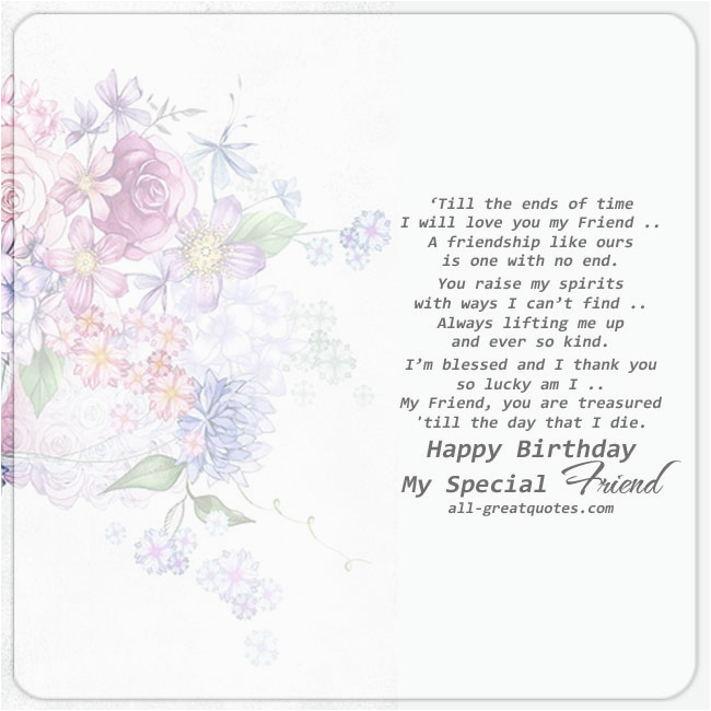 Friendship Verses for Birthday Cards Birthday Wishes for Friends Messages Verses Short Poems