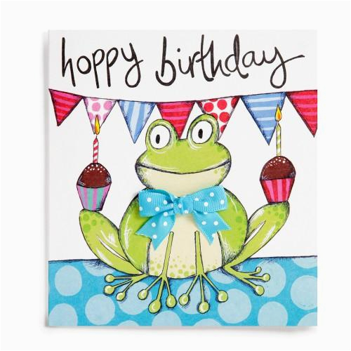 frog handmade childrens birthday card 2 60 a great