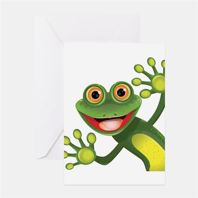 green frog greeting cards card ideas sayings designs