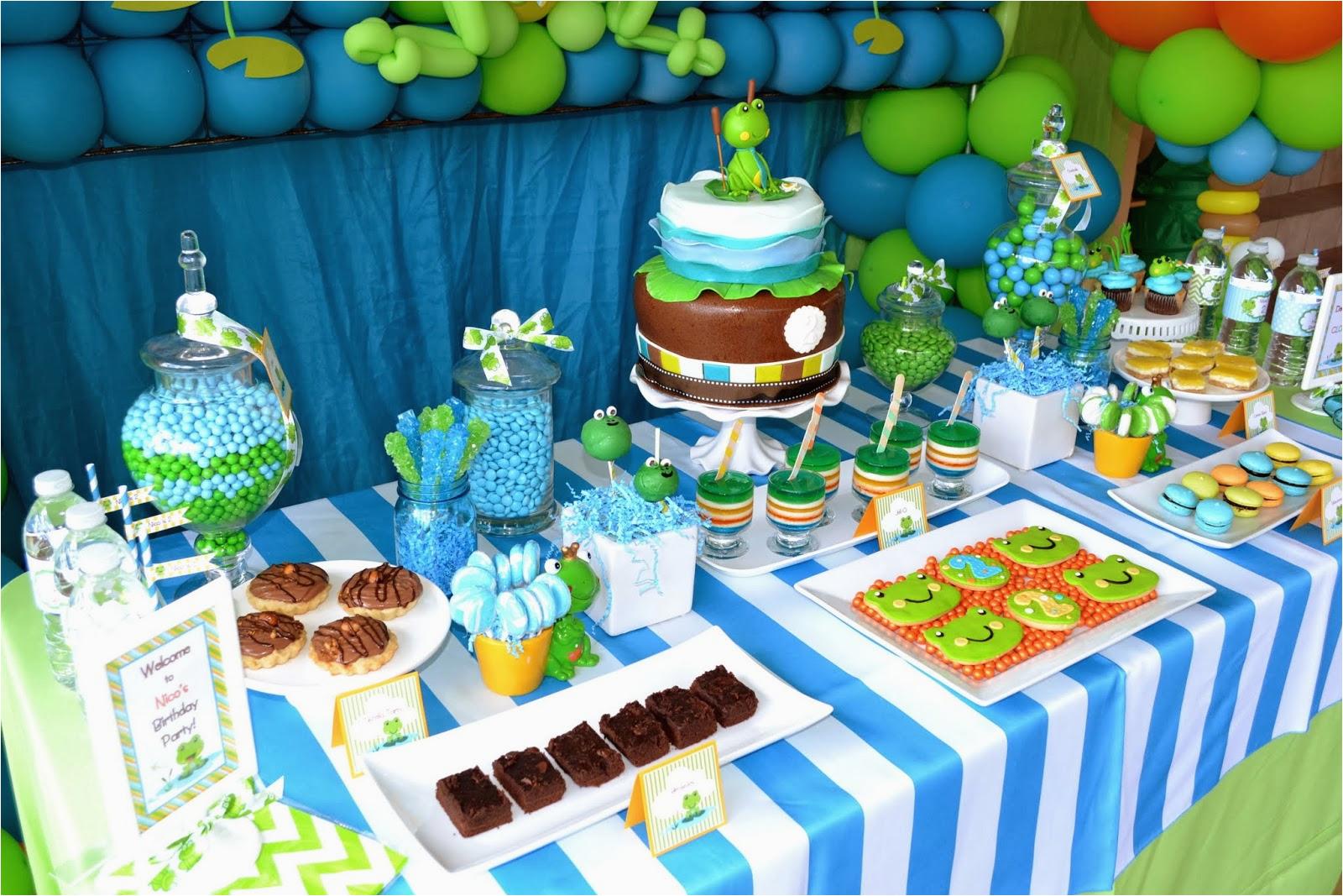 a froggy birthday