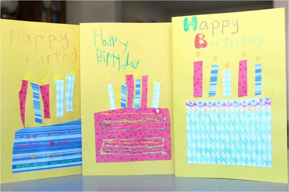 Fun Birthday Cards to Make Handmade Birthday Cards for Kids True Aim