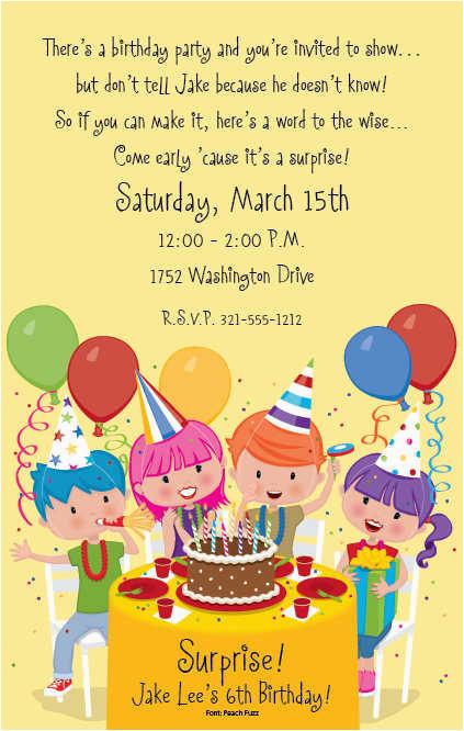 Fun Birthday Party Invitation Wording Birthday Invitation Wording Ideas