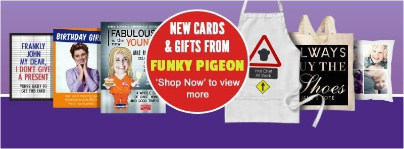 funkypigeon birthday cards funky pigeon deals sales
