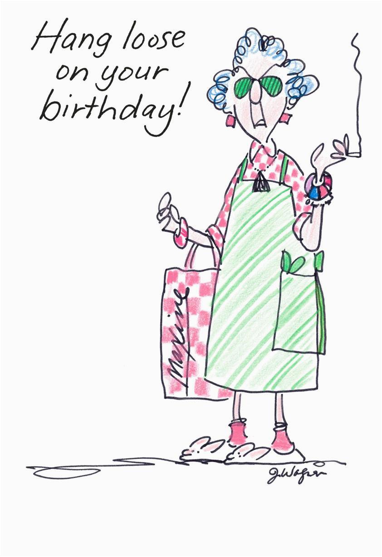 hang loose funny birthday card greeting cards hallmark