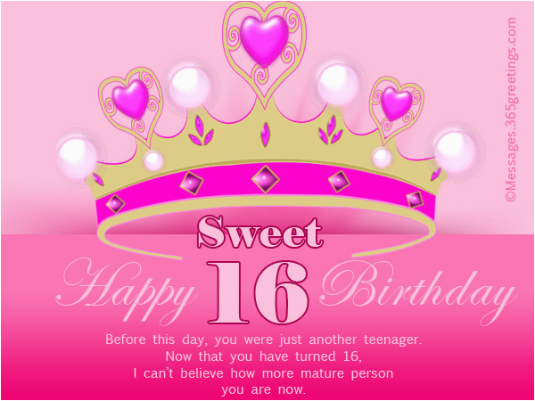 Funny 16th Birthday Cards Wishes 365greetings Com