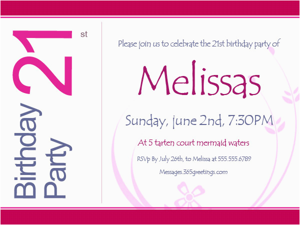 Funny 21st Birthday Invitation Wording Invitations