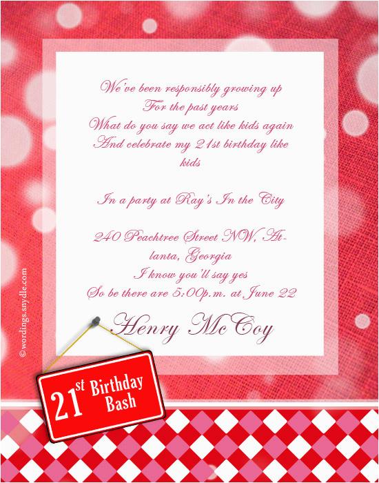 funny 21st birthday invitation sayings