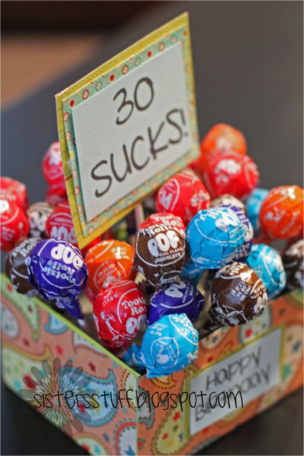 Funny 30th Birthday Decorations Gifts that Say Wow Fun Crafts and Gift Ideas Great Gift