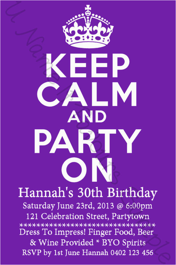 Funny 30th Birthday Invitation Wording Ideas Invitations Bagvania Free Printable