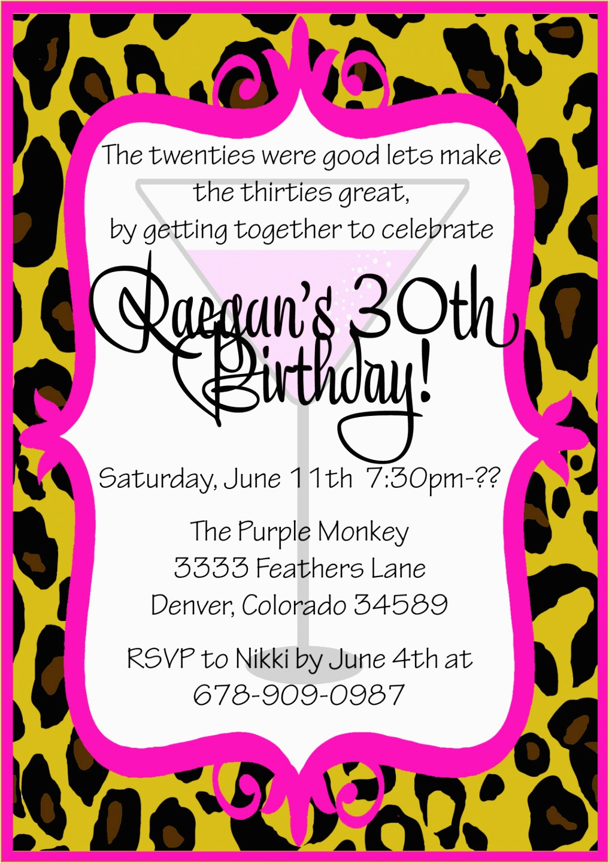 Funny 30th Birthday Invitation Wording Ideas Invitations For Party Lijicinu
