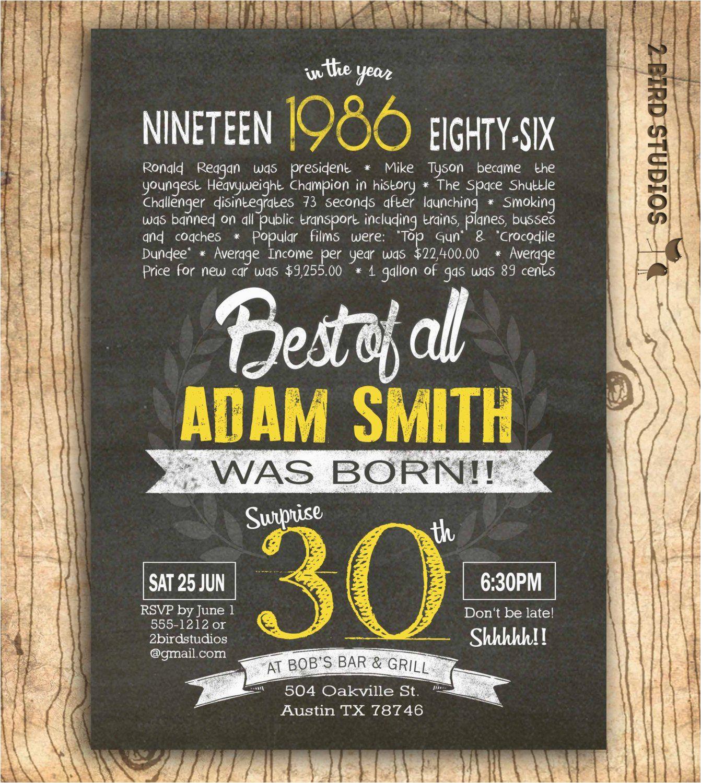 Funny 30th Birthday Invites Invitations Wording