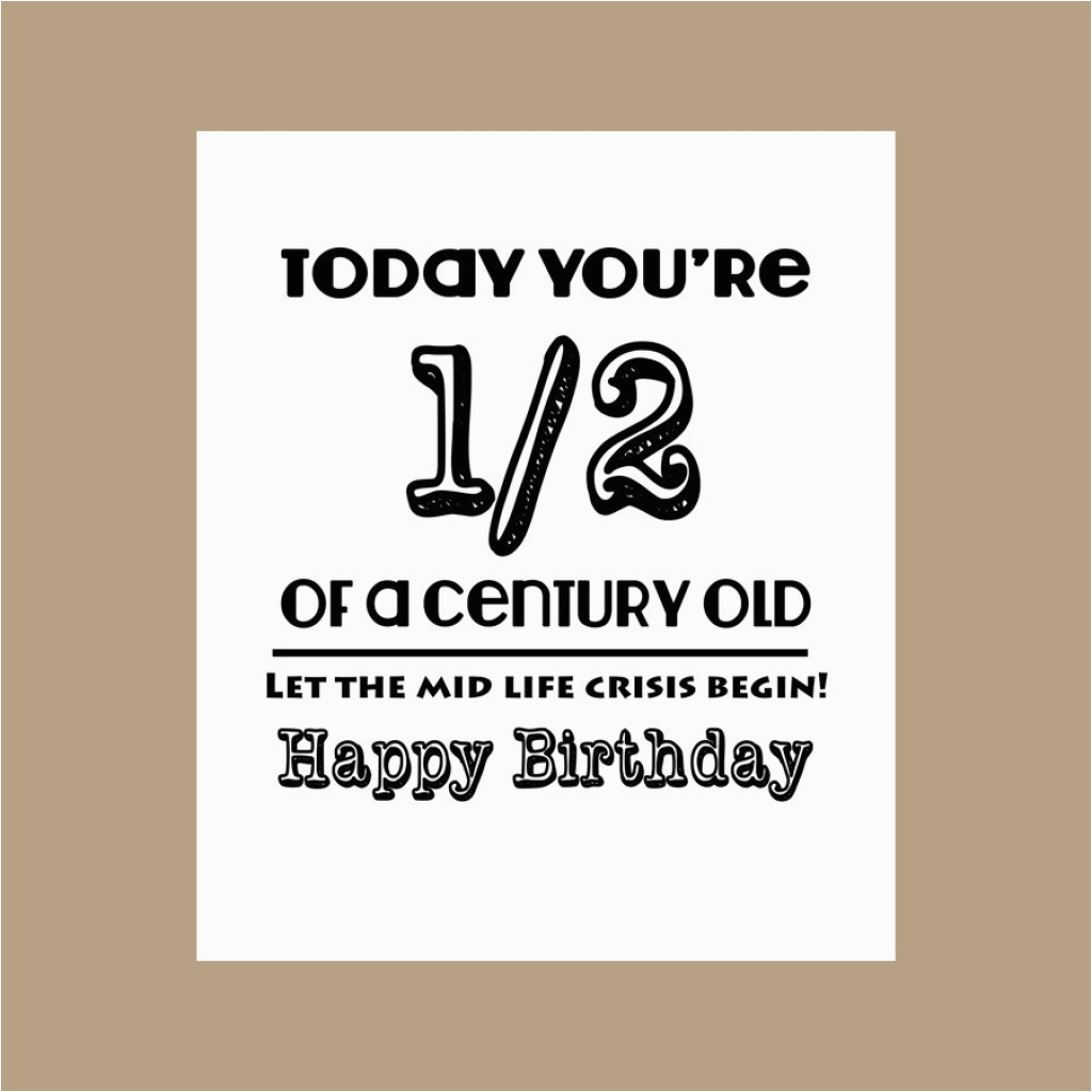 Funny 50th Birthday Cards For Dad Card Design Ideas