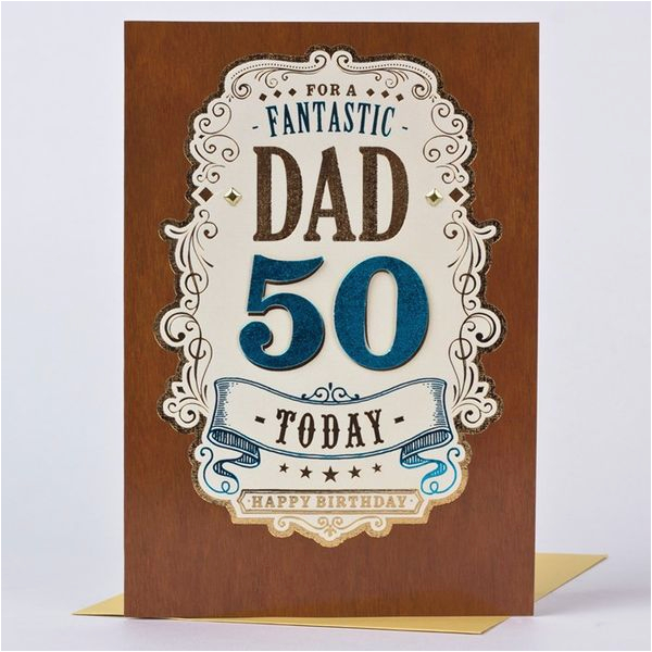Funny 50th Birthday Cards For Dad Happy Images Best Pictures