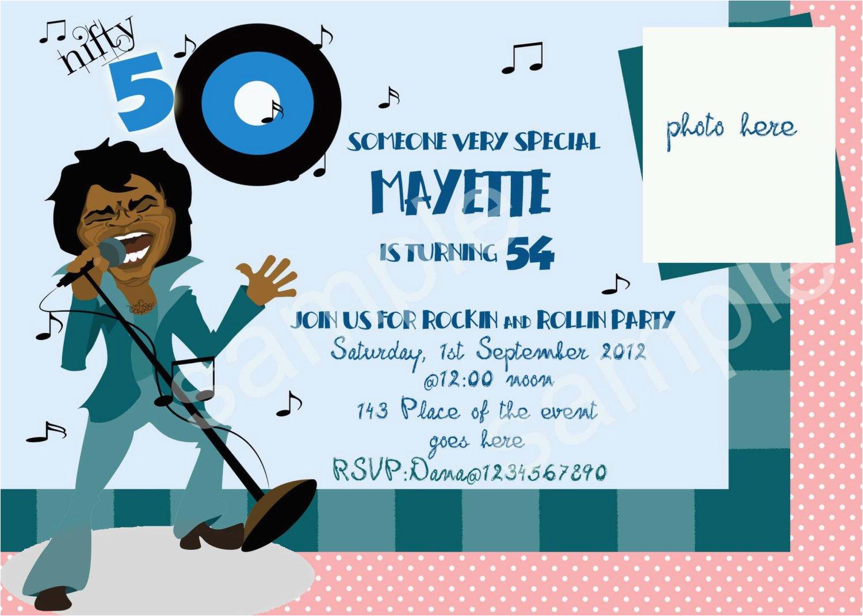 Funny 50th Birthday Party Invitations 2